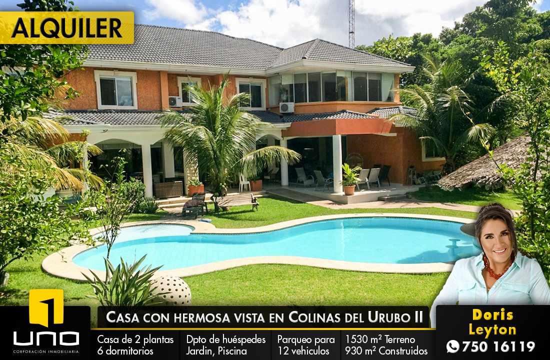 Casa en Alquiler Colinas del Urubo alquilo amplia residencia Foto 1
