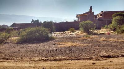Terreno en Venta en Cochabamba Sacaba A un km de la Avenida túnel El Abra-Sacaba