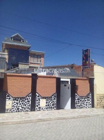 Casa en Venta en Viacha Viacha El alto zona primero de mayo a una cuadra de la plaza principal