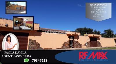 Casa en Venta en Santa Cruz de la Sierra Carretera Cotoca AV. VIRGEN DE COTOCA KM. 8 ZONA EL TRAPICHE C/ ROBORE