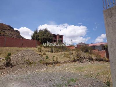 Terreno en Venta en La Paz Achumani Achumani