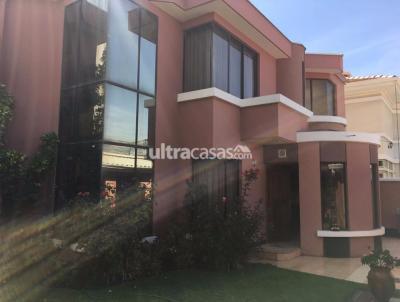Casa en Anticretico en La Paz Irpavi CALLE 11 IRPAVI