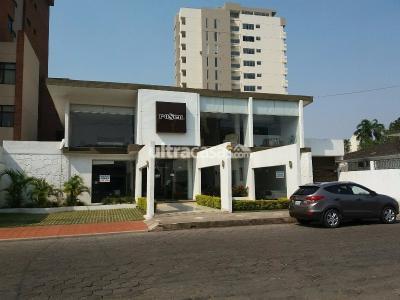 Local comercial en Alquiler en Santa Cruz de la Sierra 1er Anillo Sur HERMOSO LOCAL DE 2 PLANTAS ZONA CENTRO SUR CALLE LA RIVA