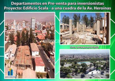 Departamento en Venta en Cochabamba Centro Calle Colombia entre Tumusla y Tarapaca