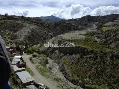 Terreno en Venta en La Paz Achumani koani