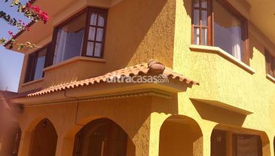 Casa en Venta en Cochabamba Tupuraya Inmediaciones subida al Mirador