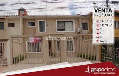 Casa en Venta en Santa Cruz de la Sierra 4to Anillo Norte Amplia Casa en Residencias el Norte