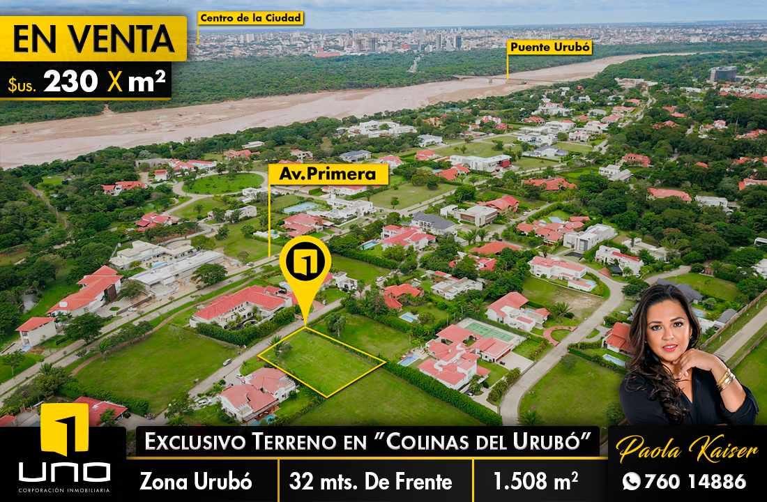 Terreno en Venta COLINAS DEL URUBO SECTOR 2 Foto 1