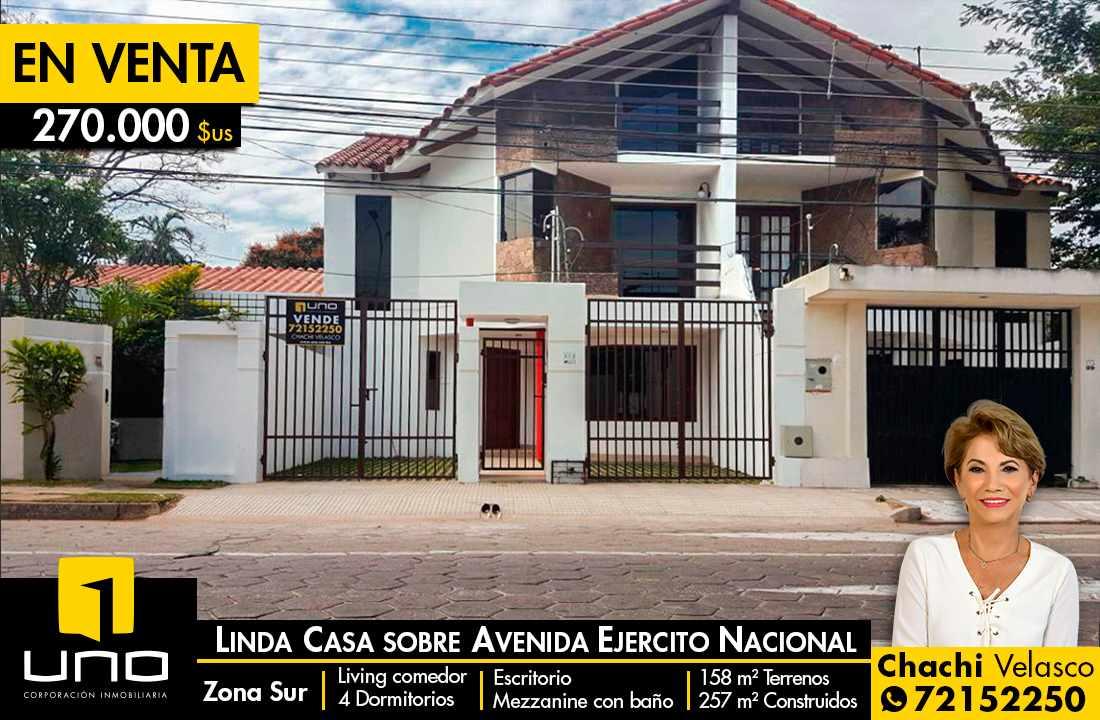 Casa en Venta LINDA CASA DE 2 PLANTAS SOBRE AV. EJERCITO NACIONAL Foto 1