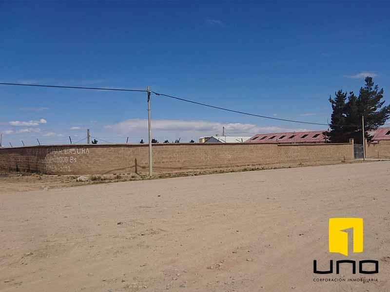 Terreno en Venta Zona Franca, El Alto Foto 1