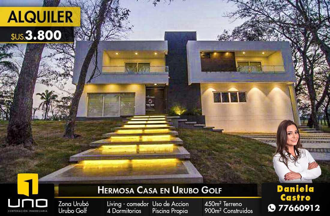 Casa en Alquiler URUBO GOLF Foto 1