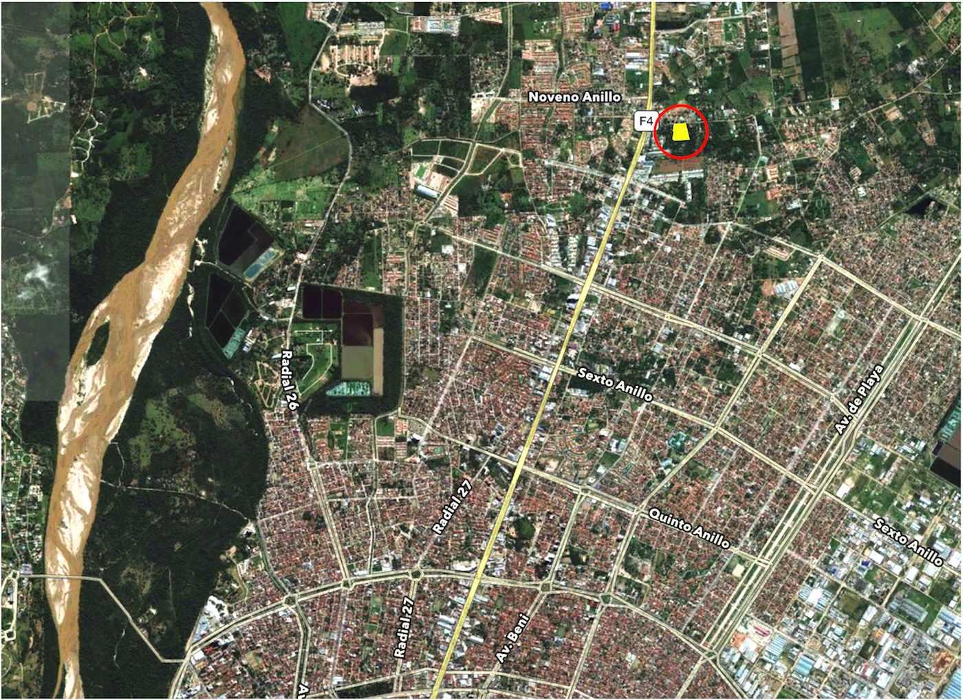 Terreno en Venta Av. Banzer Km. 7-1/2 (entre 8° & 9° anillo)... a 250 mts de la carretera Foto 3