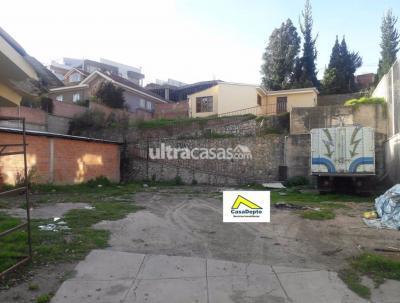 Terreno en Alquiler en La Paz Los Pinos Los Pinos, La Paz, Bolivia