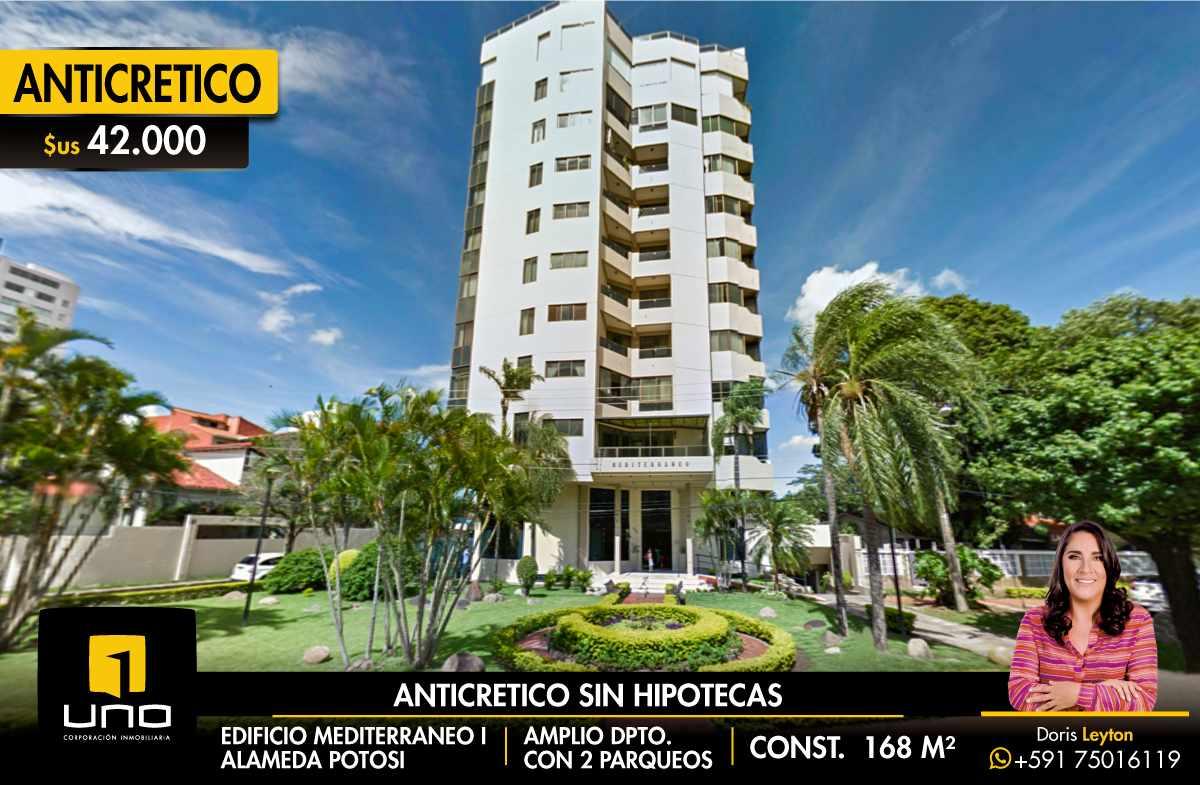 Departamento en Anticretico DOY ANTICRETICO SIN HIPOTECAS - EDIFICIO MEDITERRANEO Foto 1
