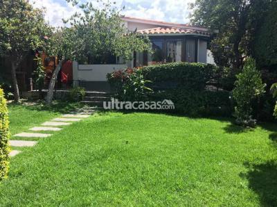 Casa en Venta en Cochabamba Aranjuez ARANJUEZ