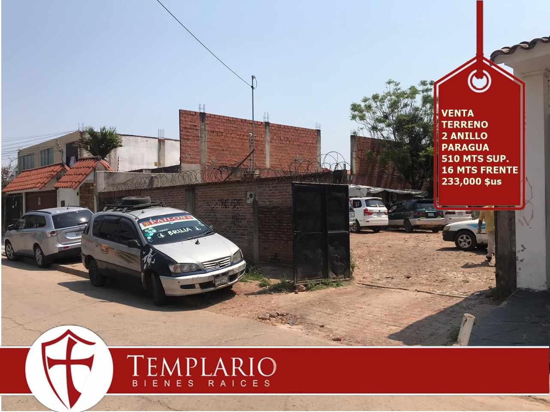 Terreno en Venta Avenida Paragua entre 2 y 3 anillo Foto 1