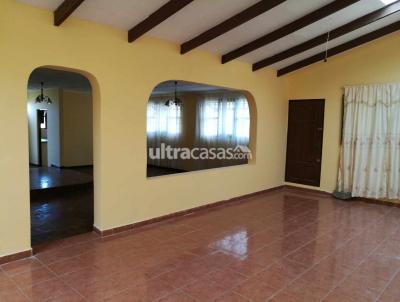 Casa en Venta en Cochabamba Pacata Pacata baja