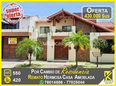 Casa en Venta en Santa Cruz de la Sierra 2do Anillo Norte Calle Horacio Rios