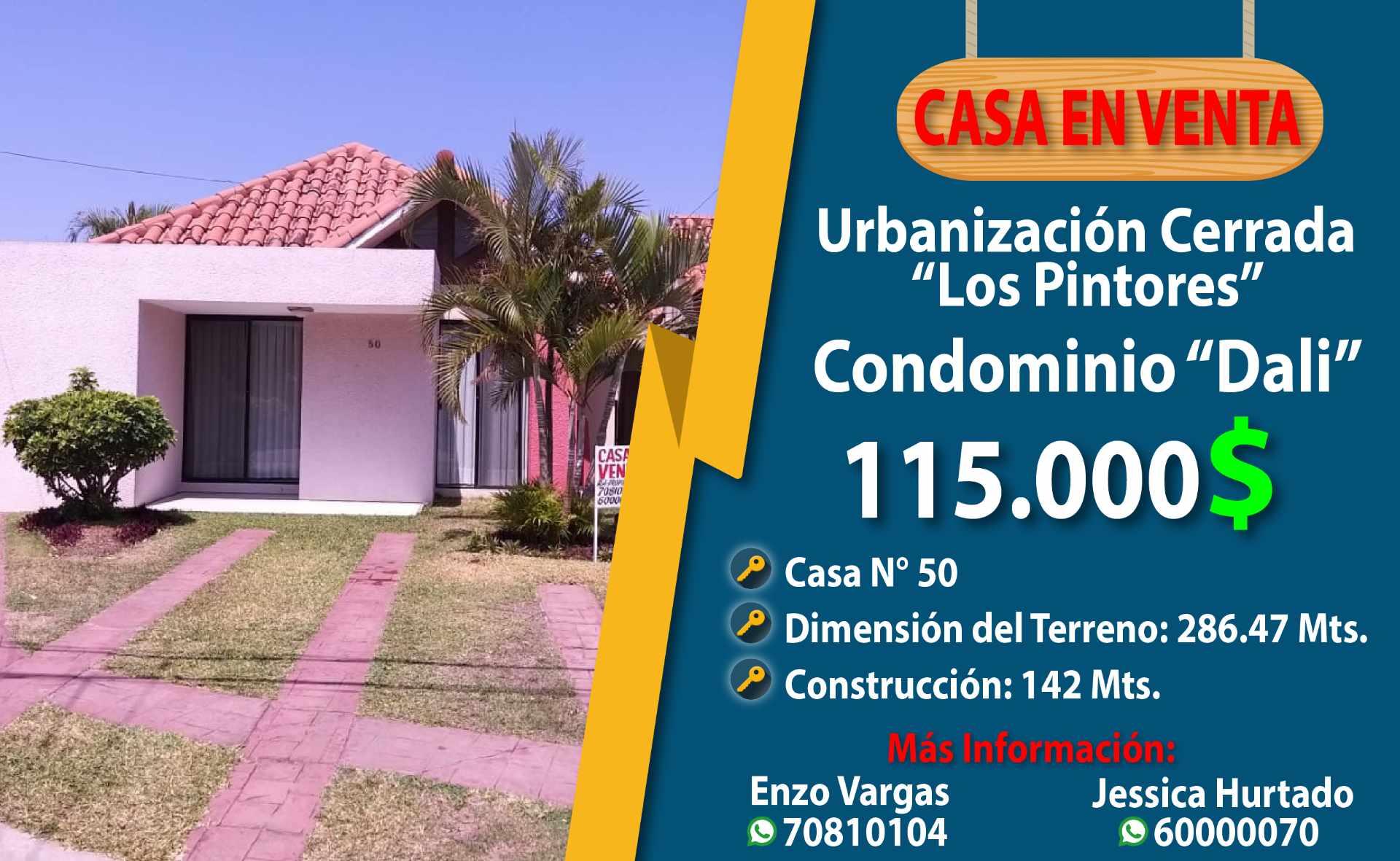 Casa en Venta Urbanización los Pintores Foto 1