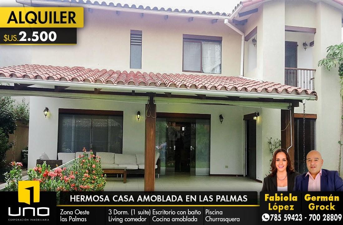 Casa en Alquiler ZONA OESTE , BARRIO LAS PALMAS Foto 1