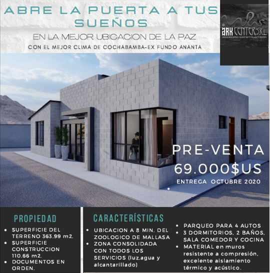 Casa en Venta Ex fundo Ananta Foto 1