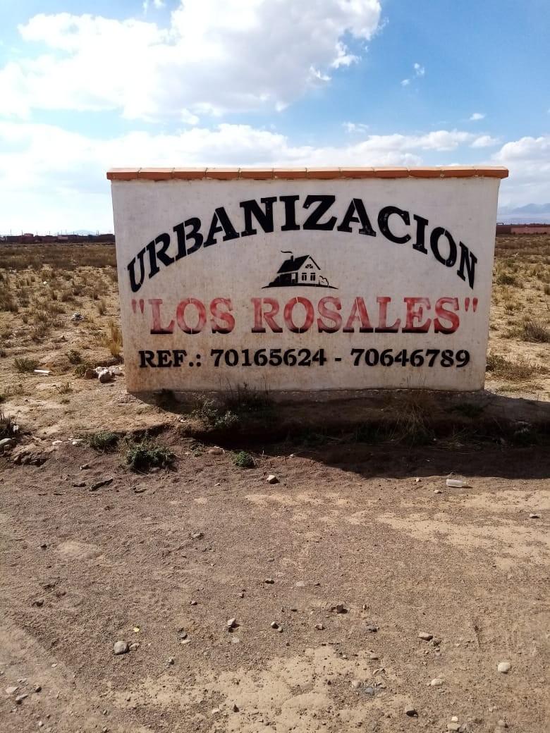 Terreno en Venta El Alto, Zona Ventilla, Urbanización Los Rosales Foto 1
