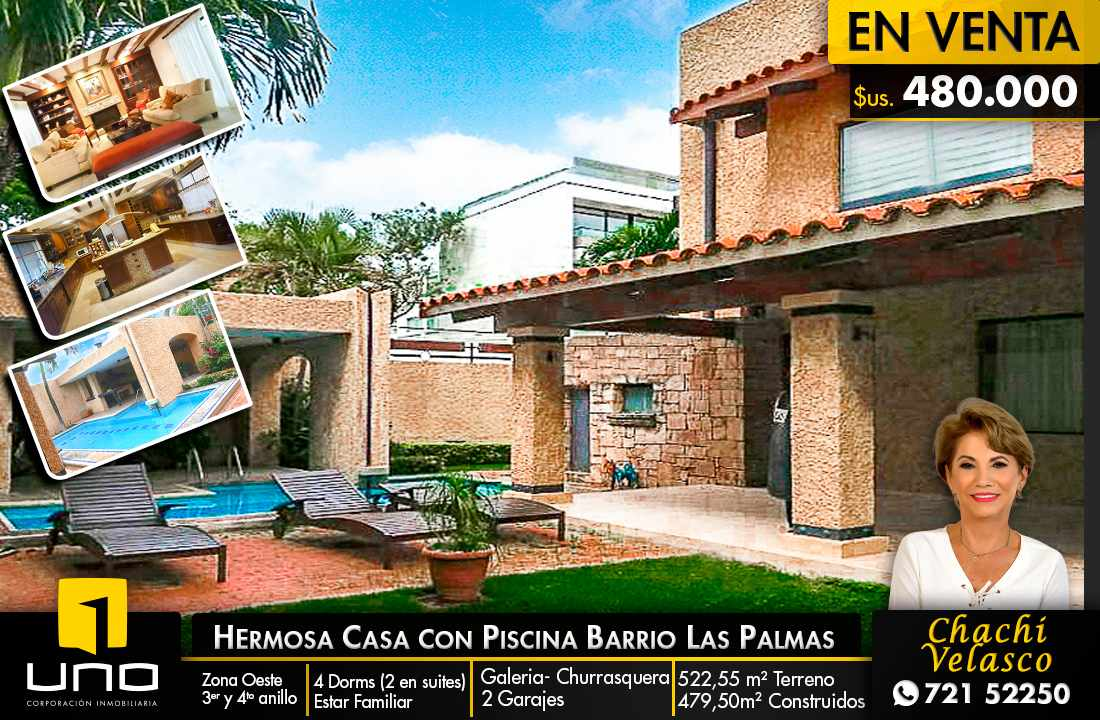 Casa en Venta GRAN OFERTA CASA DE 2 PLANTAS E EL BARRIO LAS PALMAS Foto 1