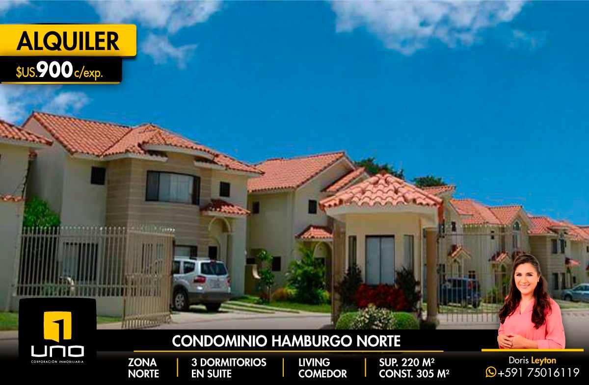 Casa en Alquiler CONDOMINIO HAMBURGO ALQUILO CASA DE 3 SUITES Foto 1