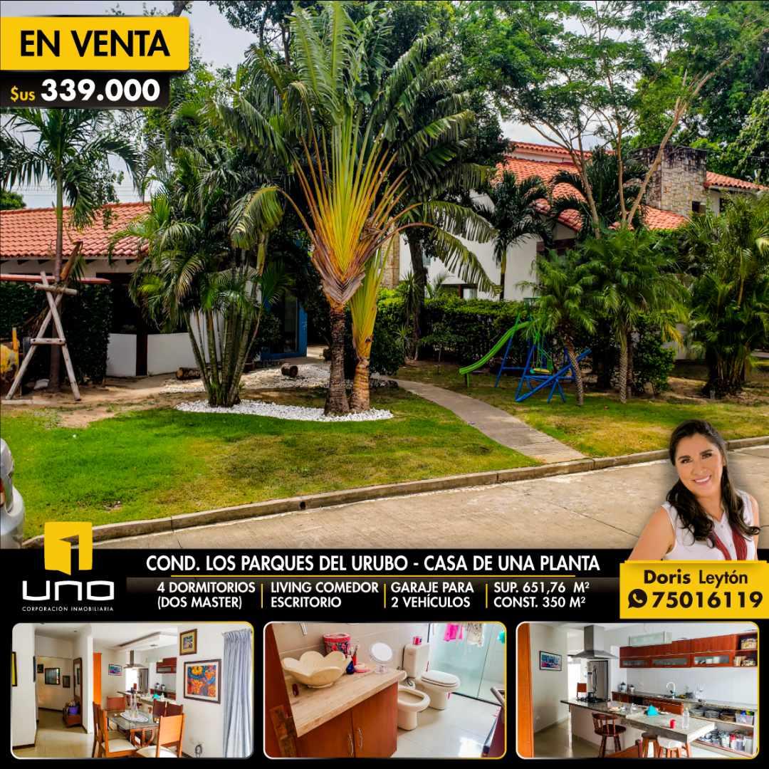 Casa en Venta LOS PARQUES DEL URUBO VENDO CASA DE UNA PLANTA Foto 1