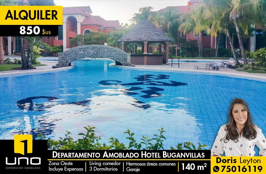 Departamento en Alquiler Hotel Buganvillas alquilo departamento amoblado Foto 1