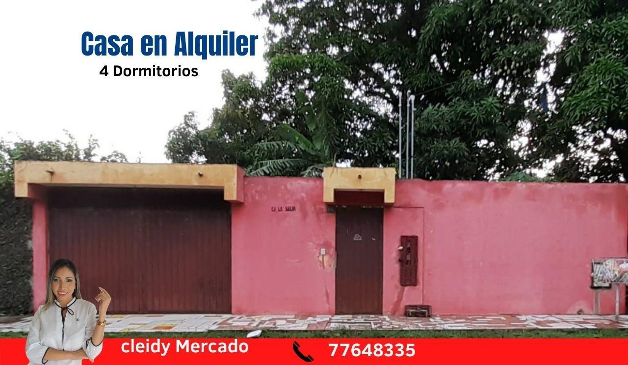 Casa en Alquiler Zona el Bajio, entre Av. Doble Via la Guardia y Radial 17 1/2, km 6 Foto 1