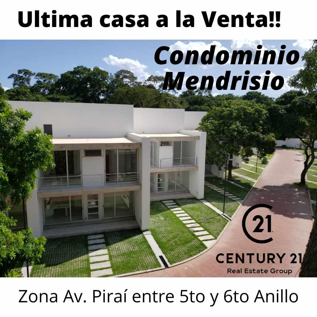 Casa en Venta Ultima casa a la Venta en Condominio Zona Av Pirai 5to Anillo Foto 1