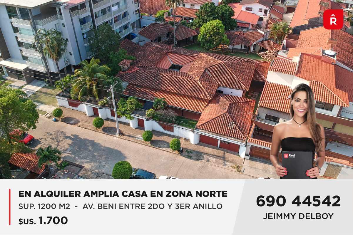 Casa en Alquiler CASA EN ZONA NORTE AV. BENI Foto 1