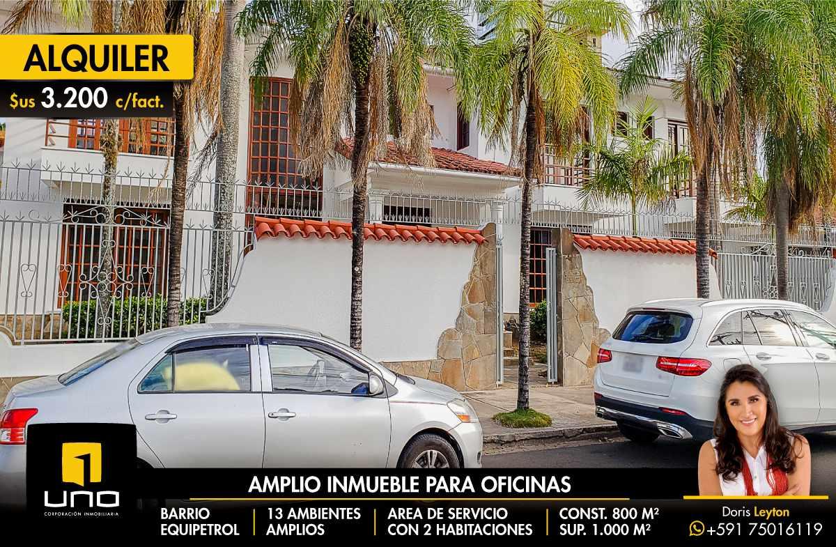 Casa en Alquiler BARRIO EQUIPETROL ALQUILO AMPLIA CASA PARA OFICINAS Foto 1