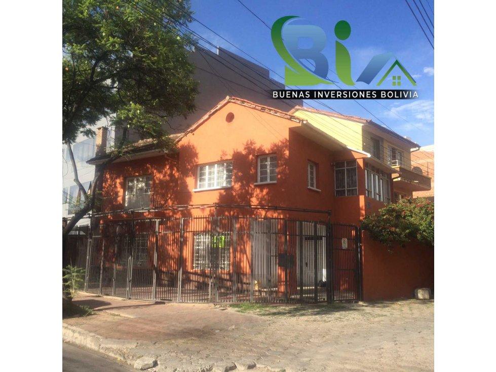 Casa en Alquiler $us 700.- CASA IDEAL OFICINA/VIVIENDA ZONA CENTRAL Foto 1