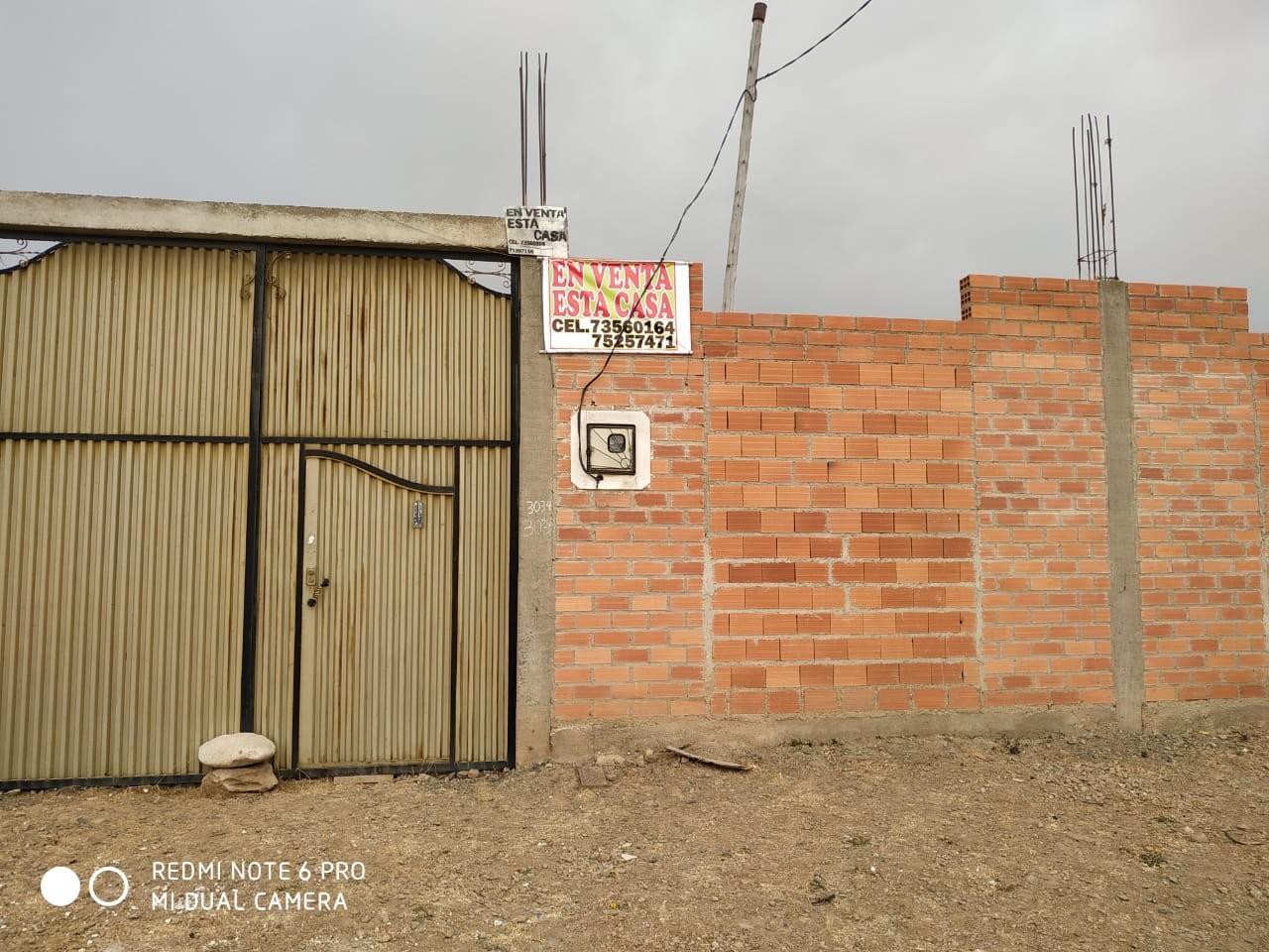 Casa en Venta Av cesar Valdés y Av. Chaiñapata Foto 1