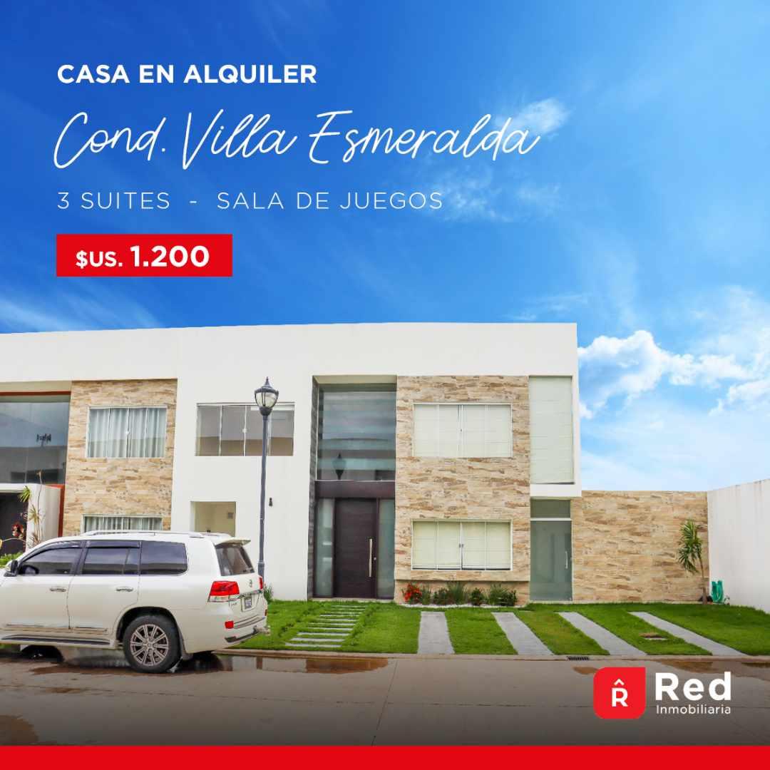 Casa en Alquiler Condominio Villa Esmeralda Norte Foto 1
