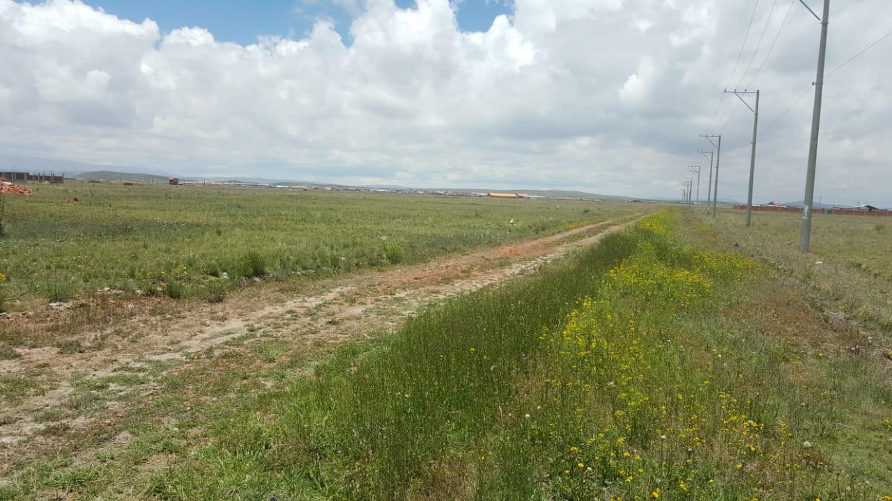 Terreno en Venta CARRETERA LADISLAO CABRERA URB. CERVECERIA BOLIVIANA NACIONAL Foto 1