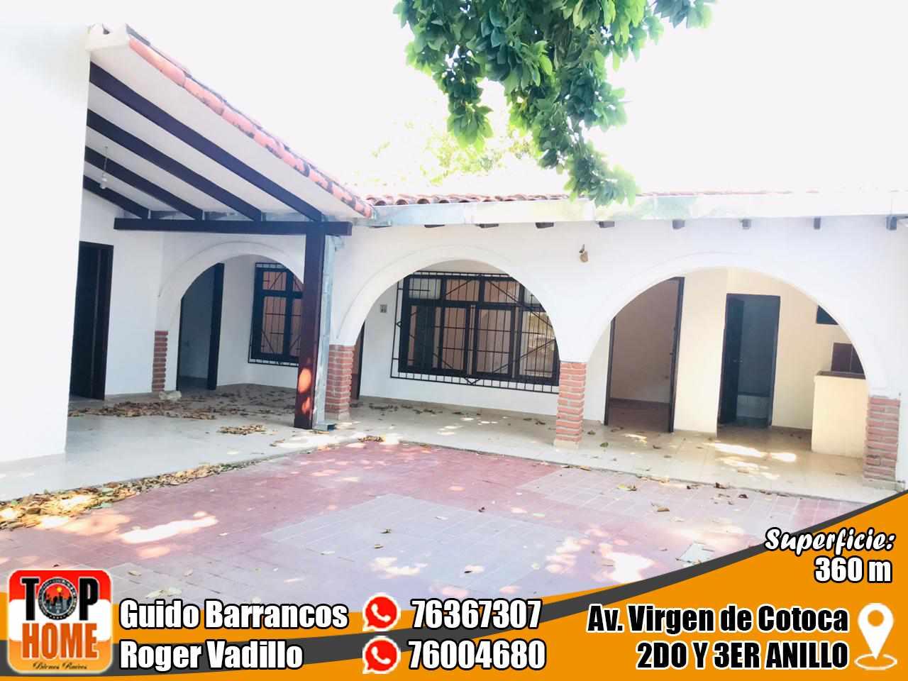 Casa en Alquiler Virgen De Cotoca Y Av. Brasil  Foto 1