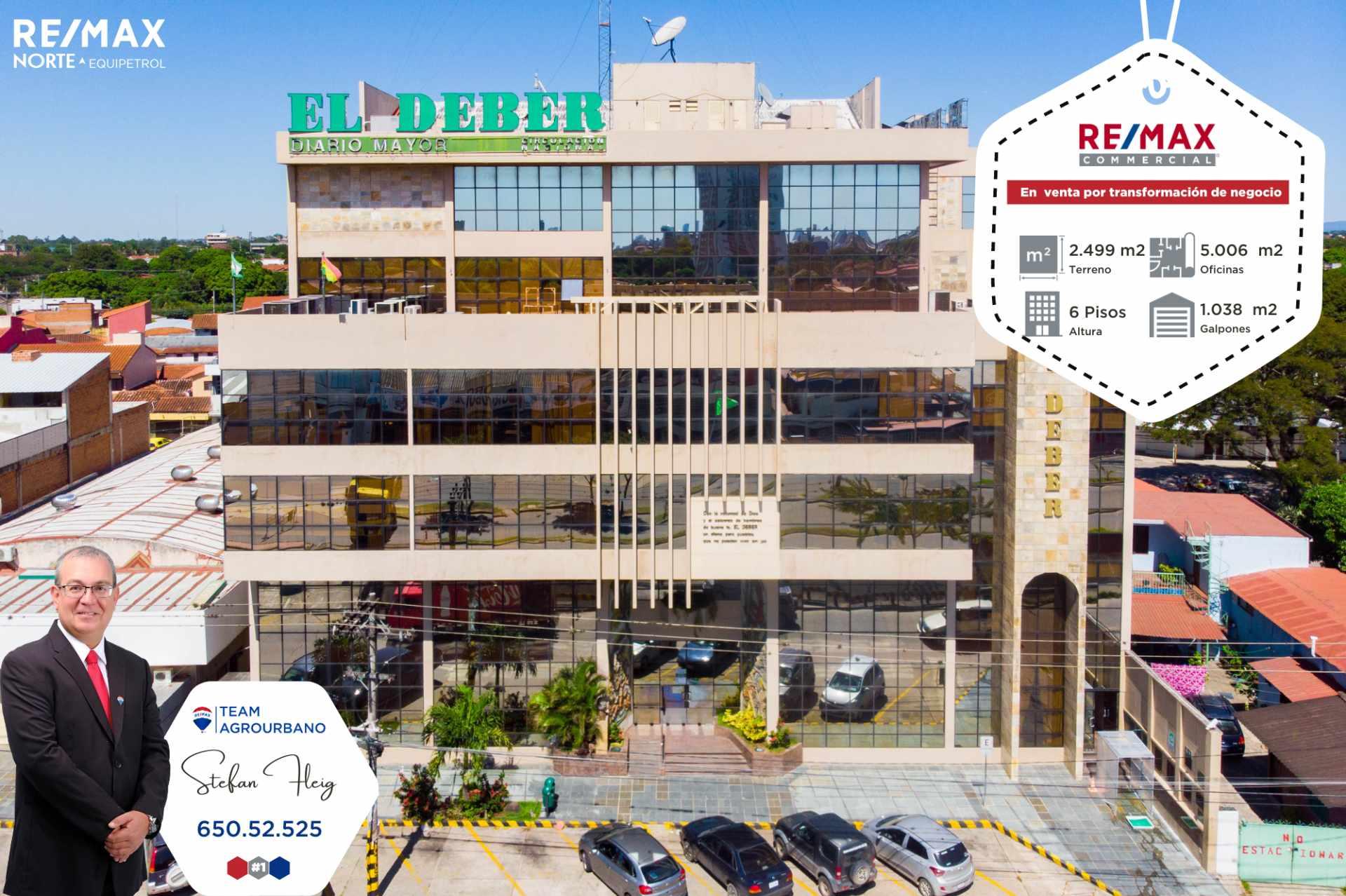 Edificio en Venta Edificio corporativo Avenida El Trompillo (2do anillo), esquina calle Melquiades Barbery Foto 1